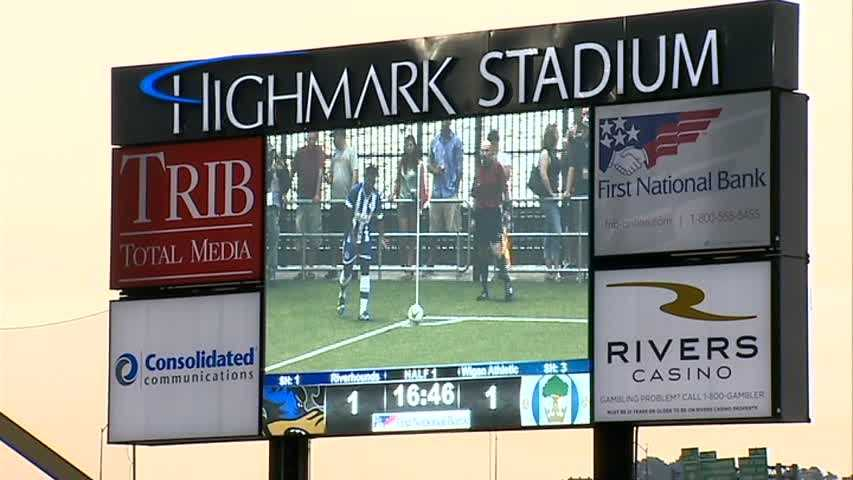 Highmark Stadium video board
