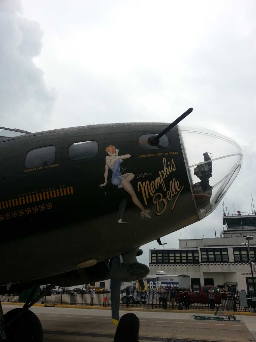 """The """"flying fortress"""" landed at the Allegheny County Airport in West Mifflin as part of the Liberty Foundation's 2013 Salute to Veterans tour."""