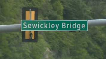 Investigators believe the girl rode her bike off the sidewalk at the end of the Sewickley Bridge and traveled into the intersection with University Boulevard.