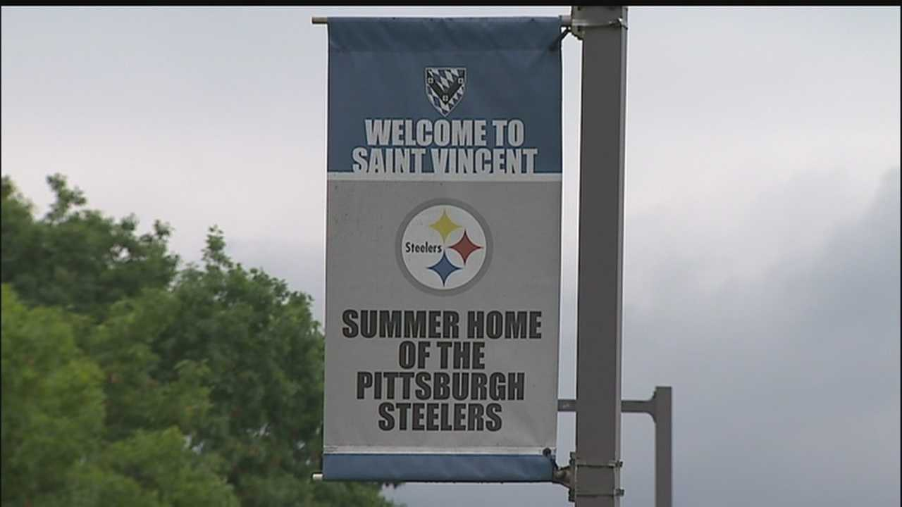 "Saint Vincent College ""Summer home of the Steelers"""