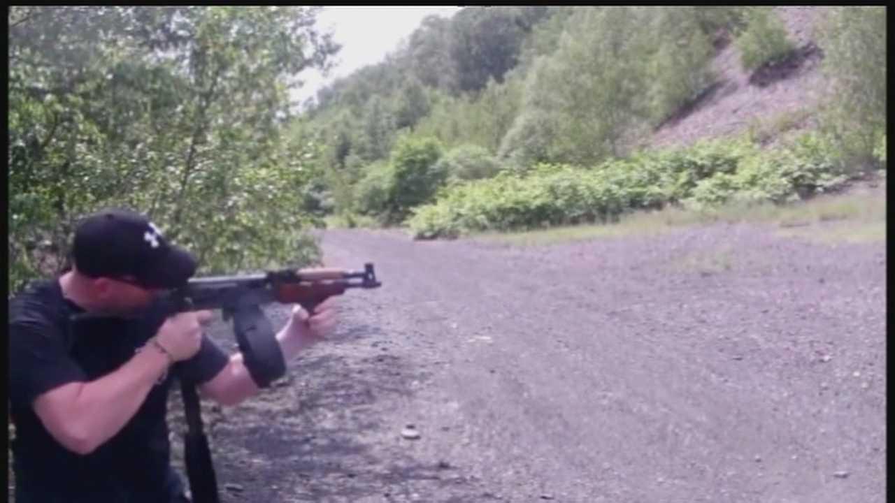 Mark Kessler shoots gun 01