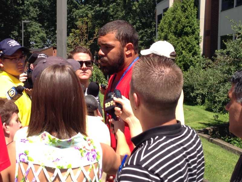 Cam Heyward says he dropped some weight and expects this season to be a breakout year.
