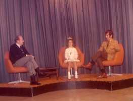 The first time Michelle appeared on TV was not as a reporter. Growing up in Lynchburg, Va., she was interviewed live on WSET for winning the Little Miss Lynchburg pageant.