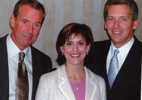 Michelle introduced Peter Jennings, the late anchor of ABC World News Tonight, when he came to Pittsburgh for an event. She and her parents watched him every night when she was growing up, and he was her role model while she studied journalism at Liberty University.