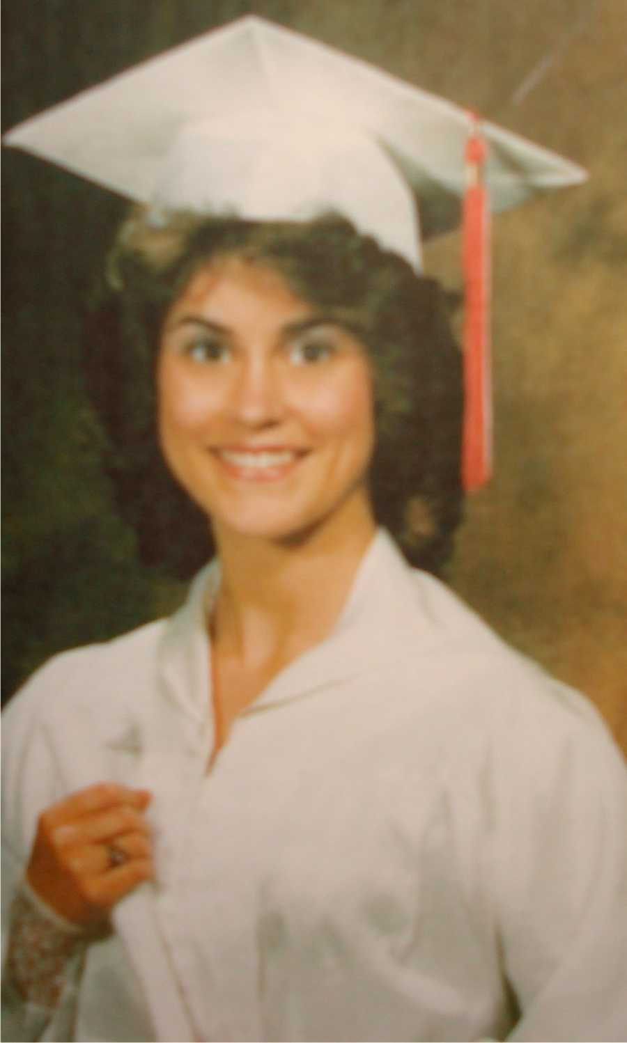 Here's another high school photo.
