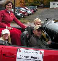 The parade at the Autumn Glory Festival in Deep Creek, Md.
