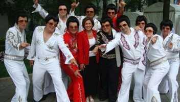 No explanation needed here: Elvis!