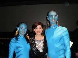"""""""Avatar"""" fans at the Lights! Glamour! Action! Oscar Party that benefits the Pittsburgh Film Office."""