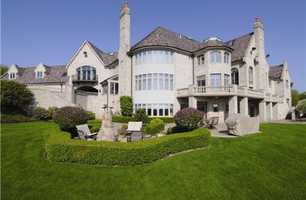 This breathtaking estate in Hampton Township is perfectly secluded, yet offers panoramic views. The home includes seven bedrooms and nine bathrooms, and is featured on realtor.com.