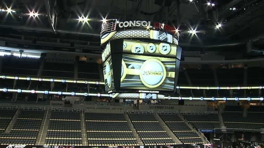 For the first time ever, the NHL Exchange is being held at Consol Energy Center in Pittsburgh.
