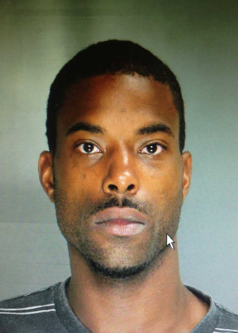 Wednesday's shooting led police to Pershing Court, where they arrested 24-year-old Chaz Hooper...