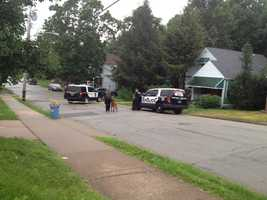 Police said the victims were found around 2 a.m. at the woman's home on Wylie Avenue on Aug. 1.