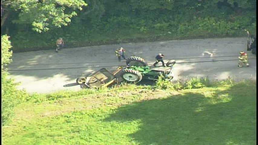 Sky 4-farm tractor rollover