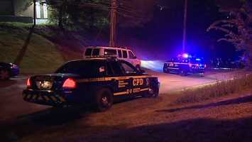 A man was found unresponsive on a street in Carnegie near the hotel where he was staying.