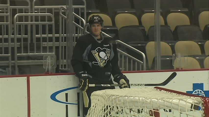 Sidney Crosby, Pittsburgh Penguins