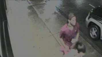 This is a surveillance video image of a man who police say was with the shooter.