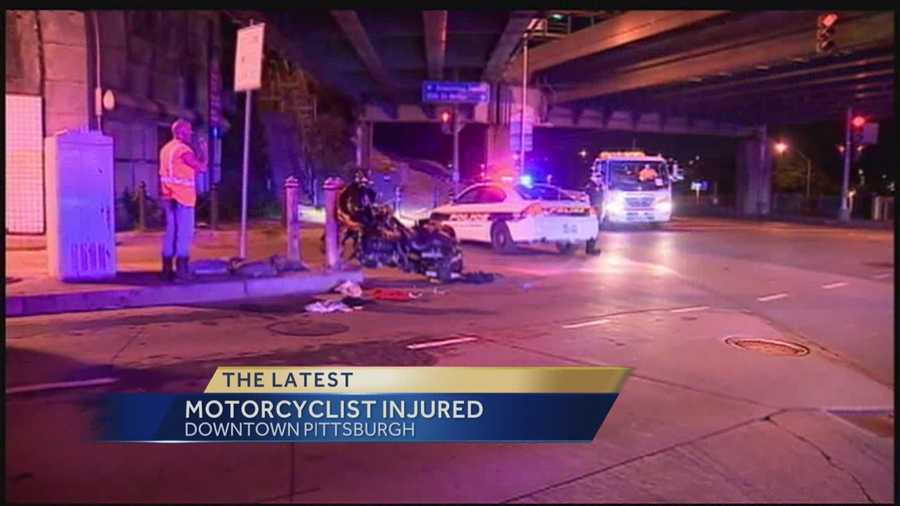 The driver was taken to a hospital after a late-night accident that forced the Armstrong Tunnel to close for about 90 minutes.