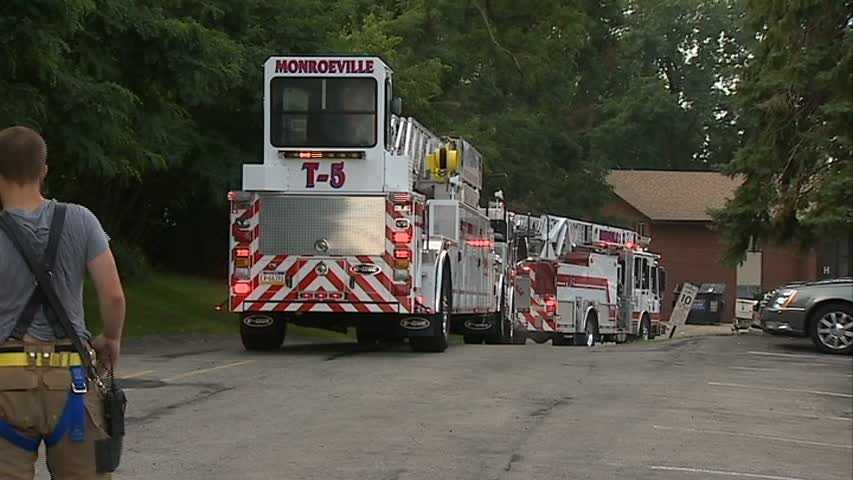 The fire chief said two people were taken to Forbes Regional Hospital for observation after suffering smoke inhalation.