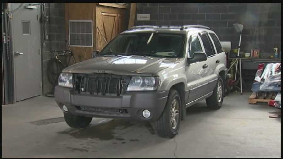 The coroner said there was no actual car fire, but the vehicle had simply been running for so long that it overheated.