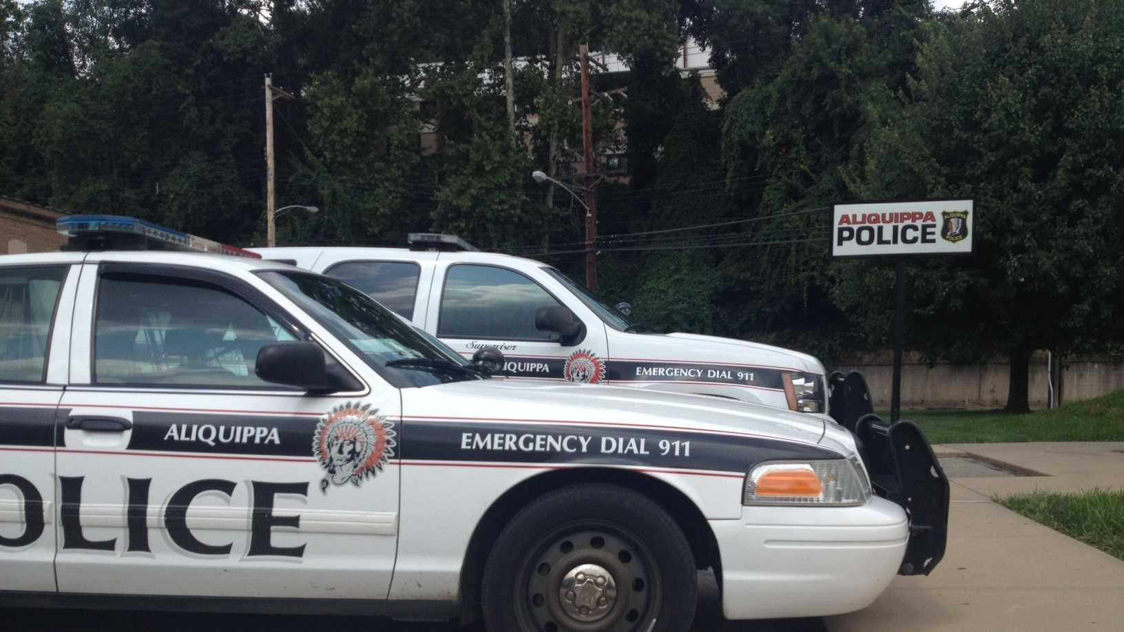 Aliquippa police cars