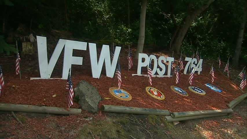 The VFW gave $100,000 toward the project raised within the community.