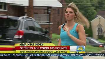 "Maria Jarosh was featured on ""Good Morning America"" in a story about healthy ways to lose weight."
