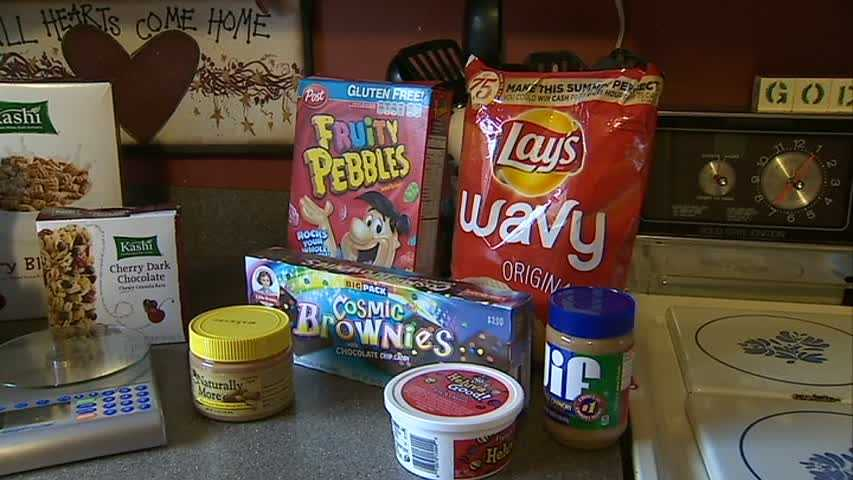 """""""Snacking was a big deal for me too. I would come home from school and have chips and dip. And before bed, I would have ice cream -- of course with Hershey's sauce and nuts."""""""