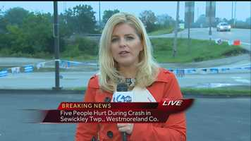 VIDEO: Watch Amber Nicotra's report from the crash scene
