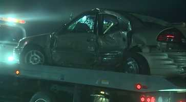 The crash happened around 1:15 a.m. on Waltz Mill Road in Sewickley Township, near Ruffs Dale.