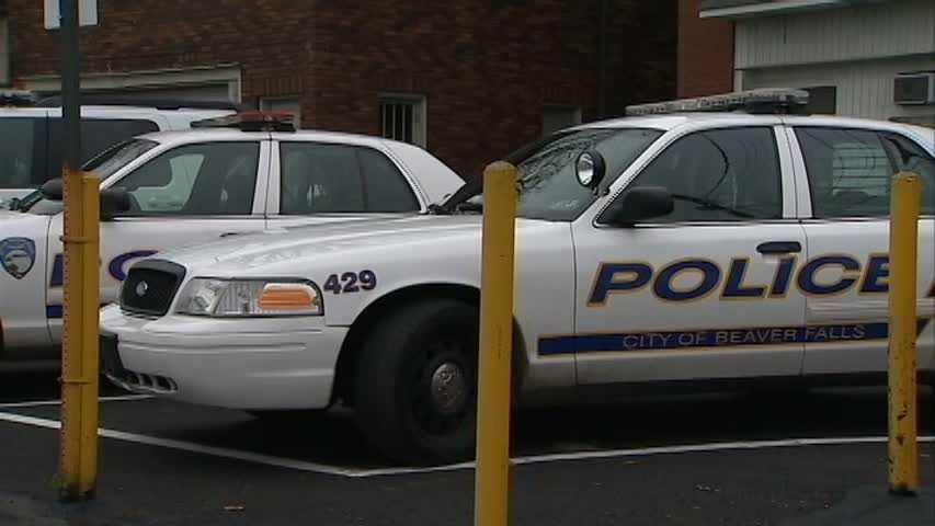 Beaver Falls police cars