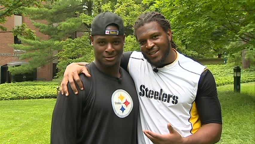 Pittsburgh rookies Le'Veon Bell and Jarvis Jones