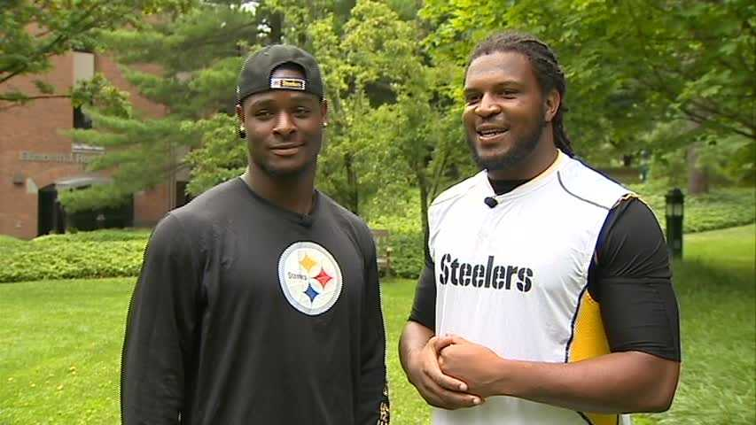 Le'Veon Bell and Jarvis Jones