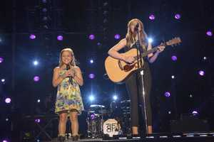 "MAISY STELLA & LENNON STELLA - The summer's hottest television music event, ""CMA Music Festival: Country's Night to Rock,"" (Photo: ABC/Jon LeMay)"