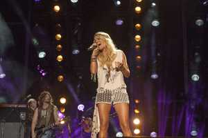 "CARRIE UNDERWOOD - The summer's hottest television music event, ""CMA Music Festival: Country's Night to Rock,"" (Photo: ABC/Jon LeMay)"