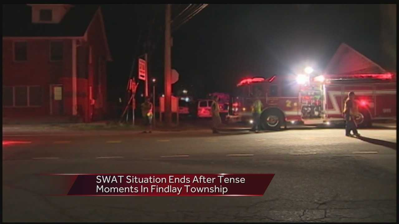 2 arrested in Findlay Township with help of SWAT team
