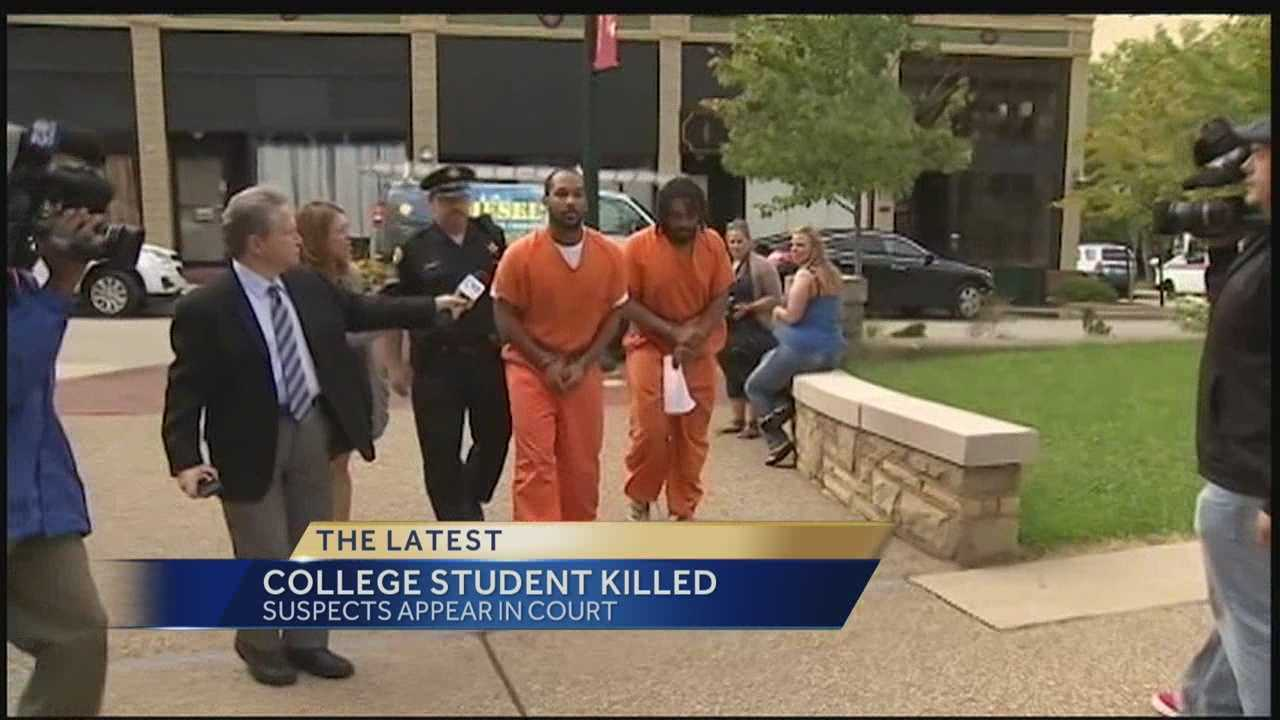 Suspects in W&J player's death in court