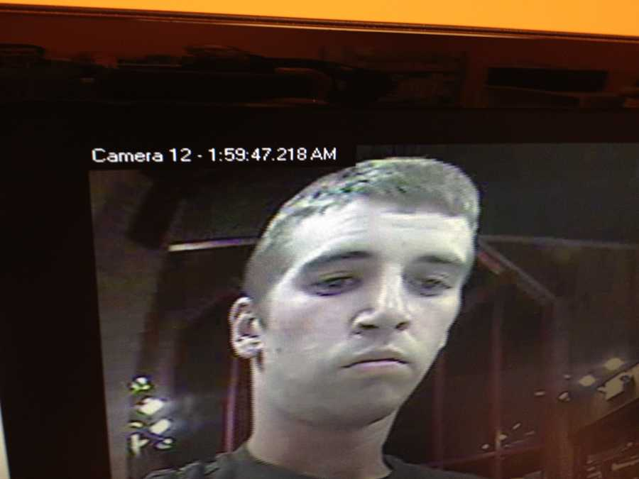 Police said the suspects left the area headed north on State Route 119/State Route 43 in an older blue Chevrolet Cavalier that was driven by someone else. The male suspect had short brown hair and wore a black T-shirt and black shorts. The female suspect had long brown hair and wore a pink shirt with a black hoodie and shorts. Anyone who can identify them is asked to call 724-439-7111.