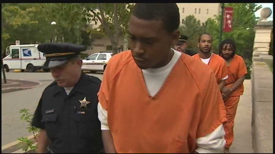 Eric Wells, Adam Hankins and Troy Simmons pleaded guilty to third-degree murder and robbery.