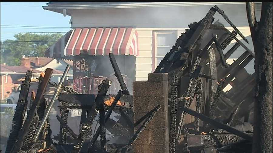 Investigators believe a fire that destroyed a Washington house Thursday morning was set intentionally, and now they are looking for the arsonists.