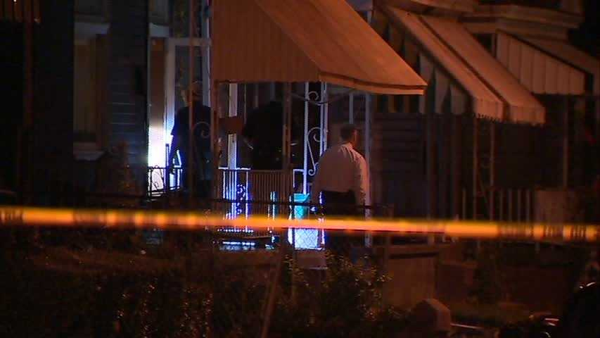 The shooting happened on Lowell Street at about 10:45 p.m.