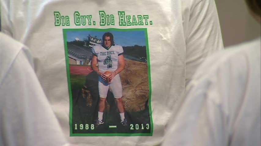 Zach Sheridan played football at Seton-La Salle High School and Slippery Rock University.