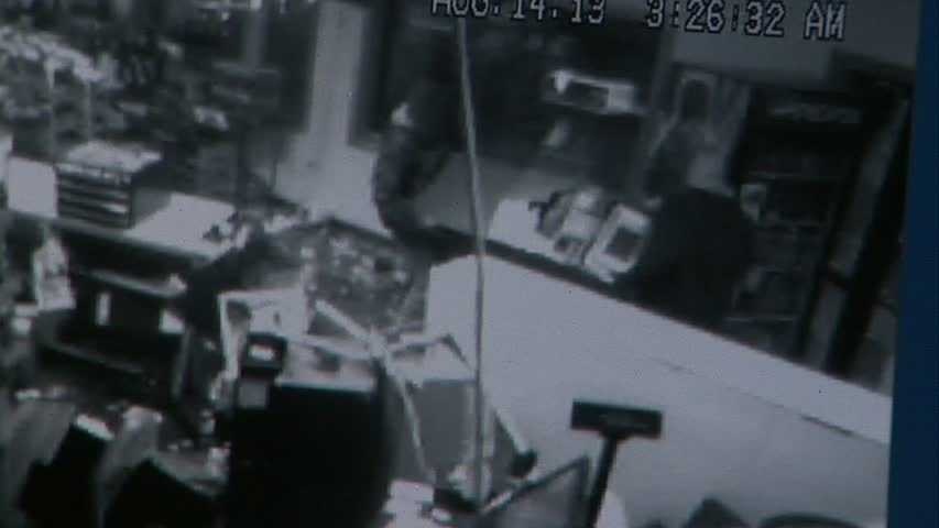 The thieves picked up the ATM, weighing approximately 400 pounds ...
