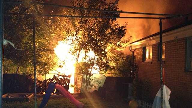 Fire damages Mount Washington house