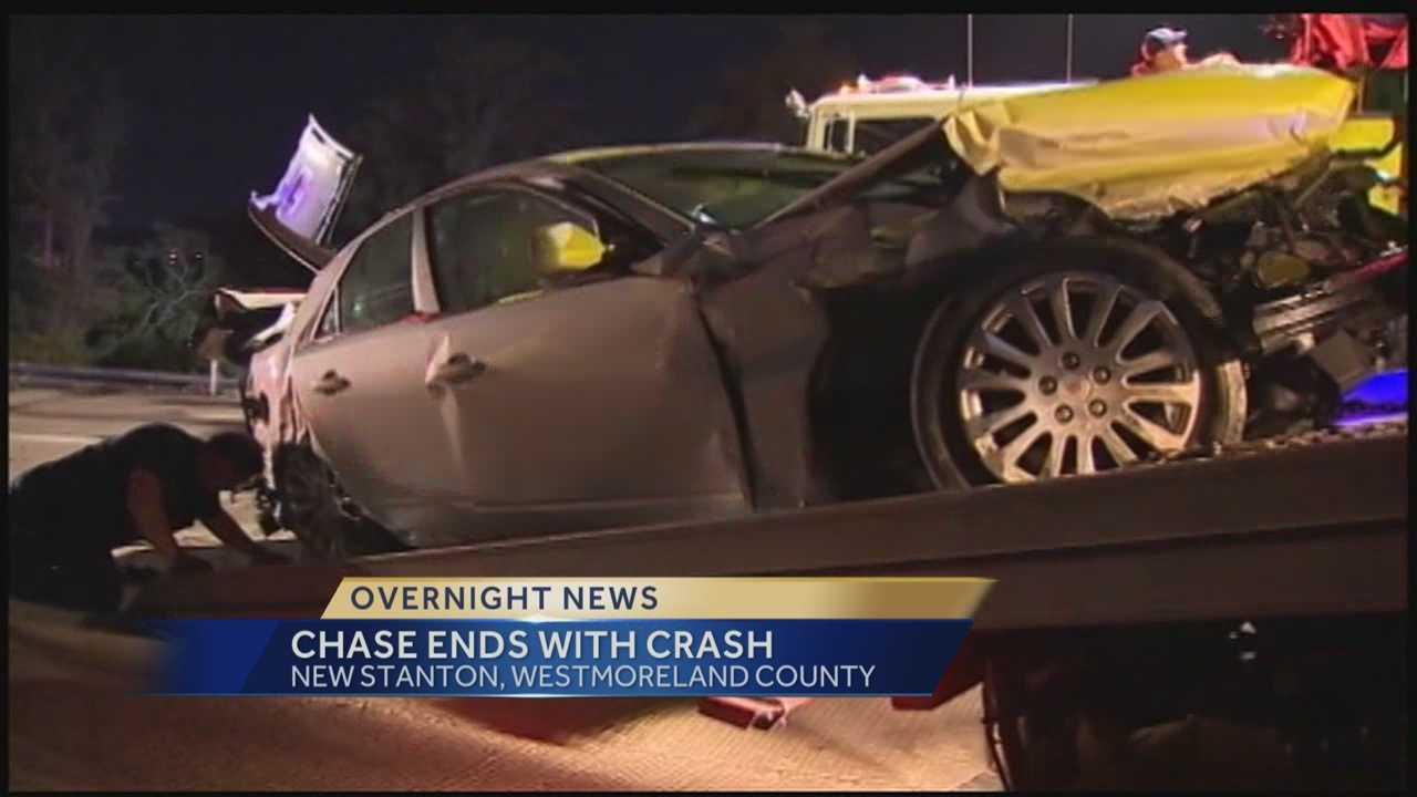 New Stanton crash