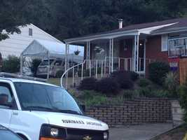 The shooting happened at a home on Winterset Drive.