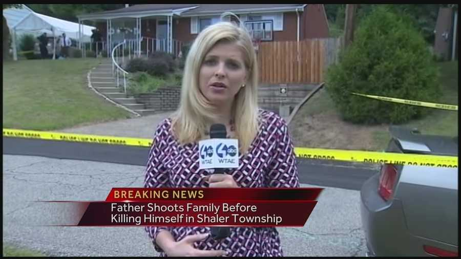 Amber Nicotra reports from the crime scene on Winterset Drive in Shaler Township. (VIDEO: Watch her latest report)