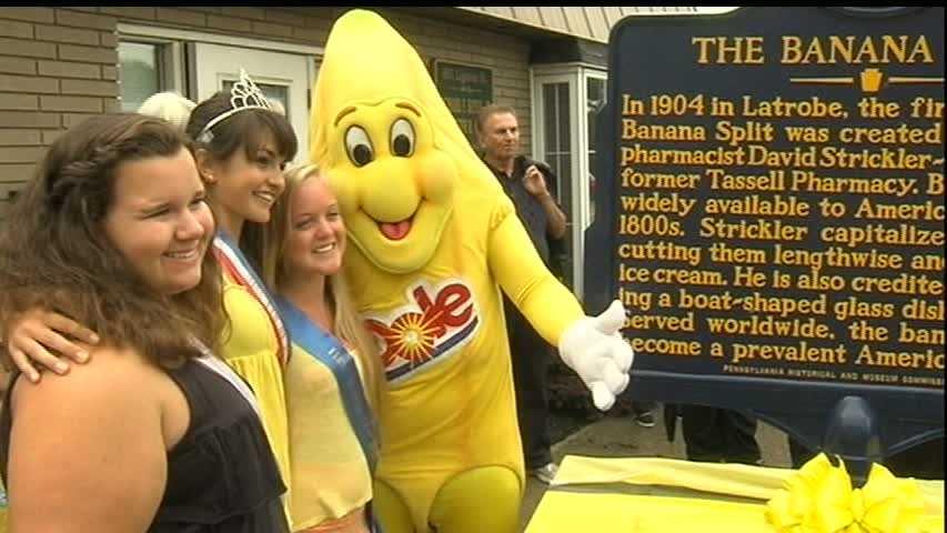 Banana split party