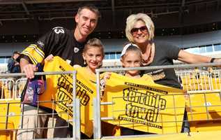 Check out photos of Steelers fans before Saturdays game at Heinz Field.