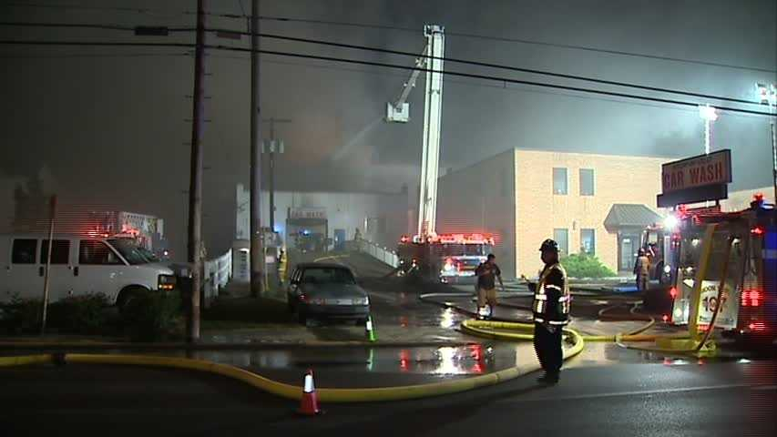 An early-morning fire destroyed three Coraopolis businesses.