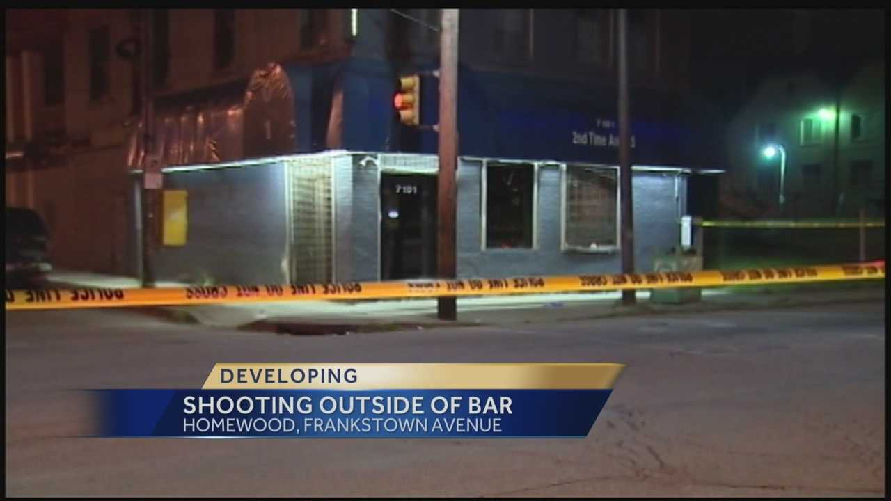 Police searching for a suspect in a early morning shooting outside of a local bar. Action News Ashie Hardway has the latest...